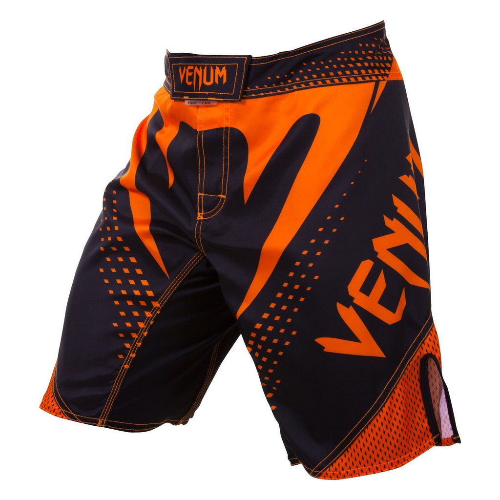 Venum <br> Hurricane Fight Shorts <br> Black/Neo Orange