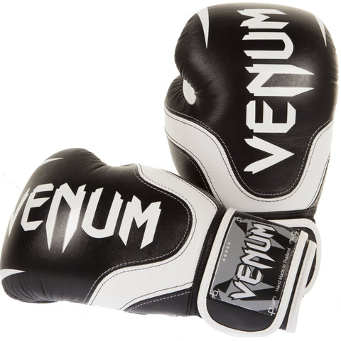 Venum <br> Absolute 2.0 Gloves <br> Black/White Nappa Leather