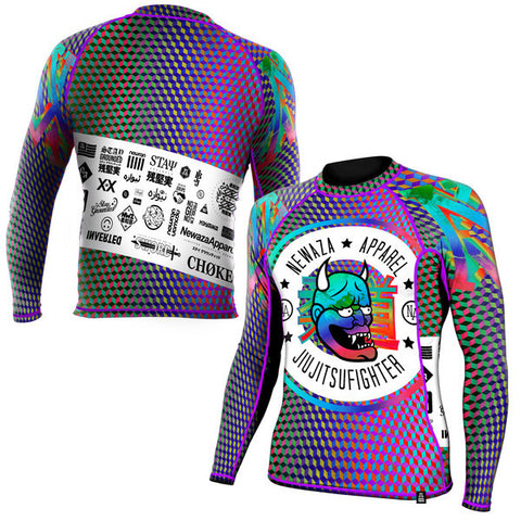 Newaza Apparel <br> Inverted Geoprism Rashguard