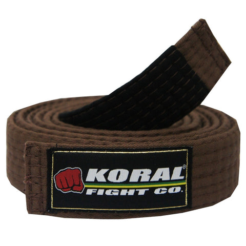 Koral Adult Belt Brown
