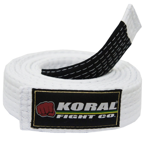 Koral Adult Belt White
