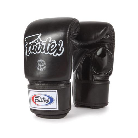 Fairtex <br> Super Sparring Bag Gloves <br> Open Thumb