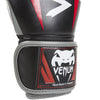 Venum <br> Elite Boxing Gloves <br> Black/Red/Grey
