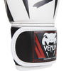Venum <br> Elite Boxing Gloves <br> White/Black/Red
