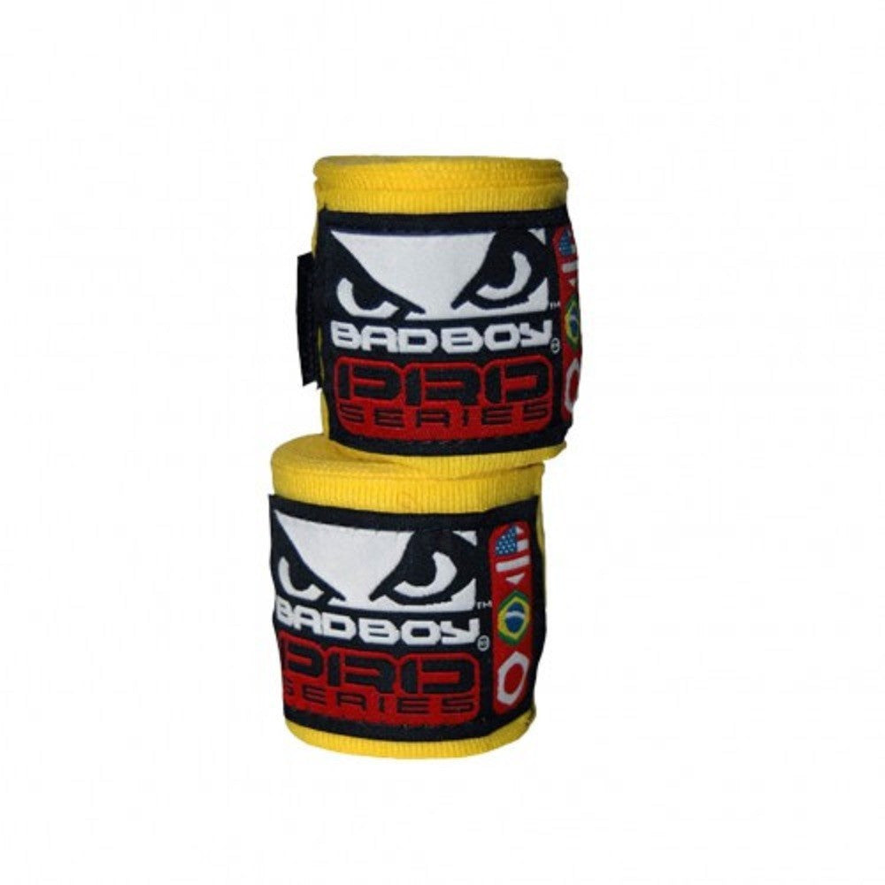 Bad Boy <br> Hand Wraps 3.5 M <br> Yellow