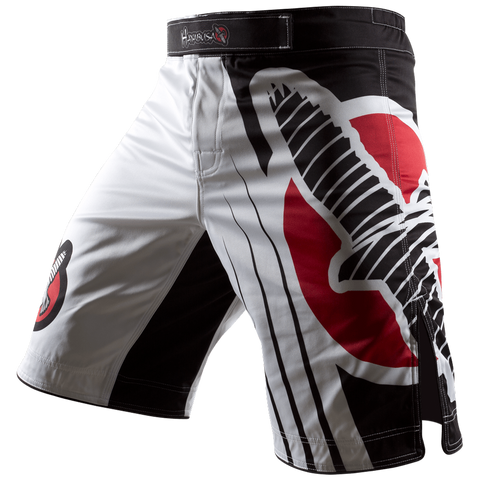 Hayabusa <br> Chikara Recast Performance Shorts <br> White