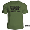 Dokebi <br> Grappling Arts Tee <br> Army Green