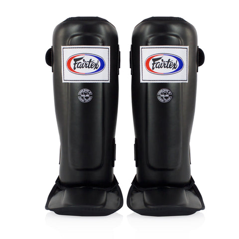 Fairtex <br> SP3 Pro Style Shinguards <br> Black