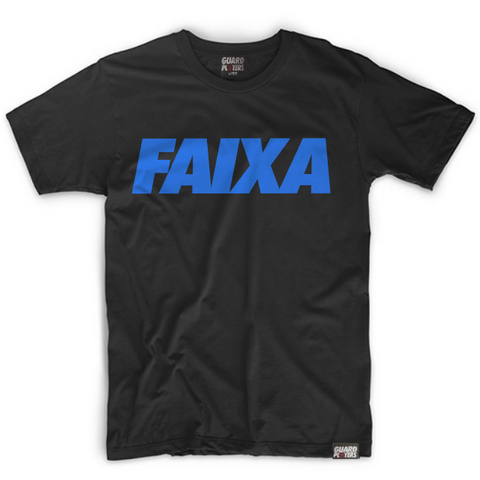Guard Players <br> FAIXA <br> Blue on Black