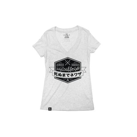 Newaza Apparel <br> Jiu Jitsu Lifestyle <br> Women's Deep V-Neck