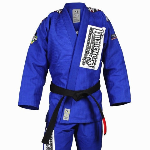 Gameness Platinum Weave Gi Blue