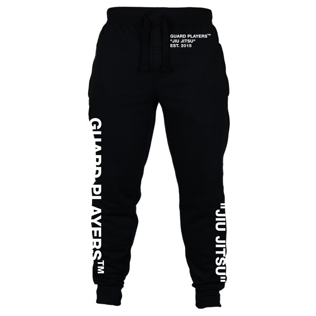 "Guard Players <br> ""Jiu Jitsu"" Joggers <br> Black"
