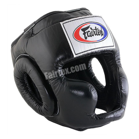 Fairtex <br> HG3 Full Coverage <br> Headgear Black