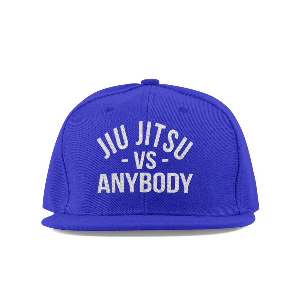 Guard Players <br> JiuJitsu vs Anybody Snapback <br> White on Blue