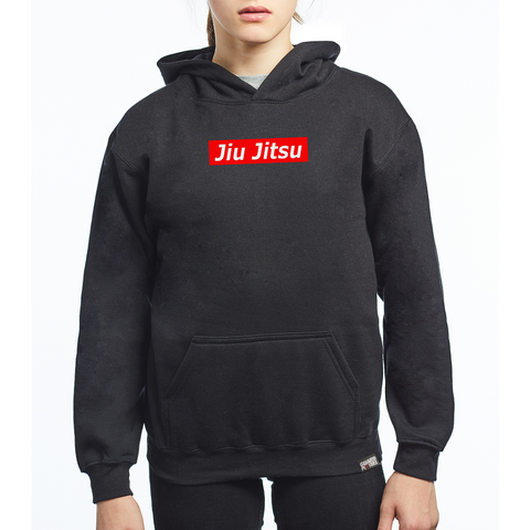 Guard Players <br> Jiu Jitsu Supreme Hoodie <br> Kids Black