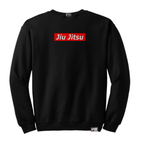 Guard Players <br> Jiu Jitsu Supreme <br> Crew Neck Black
