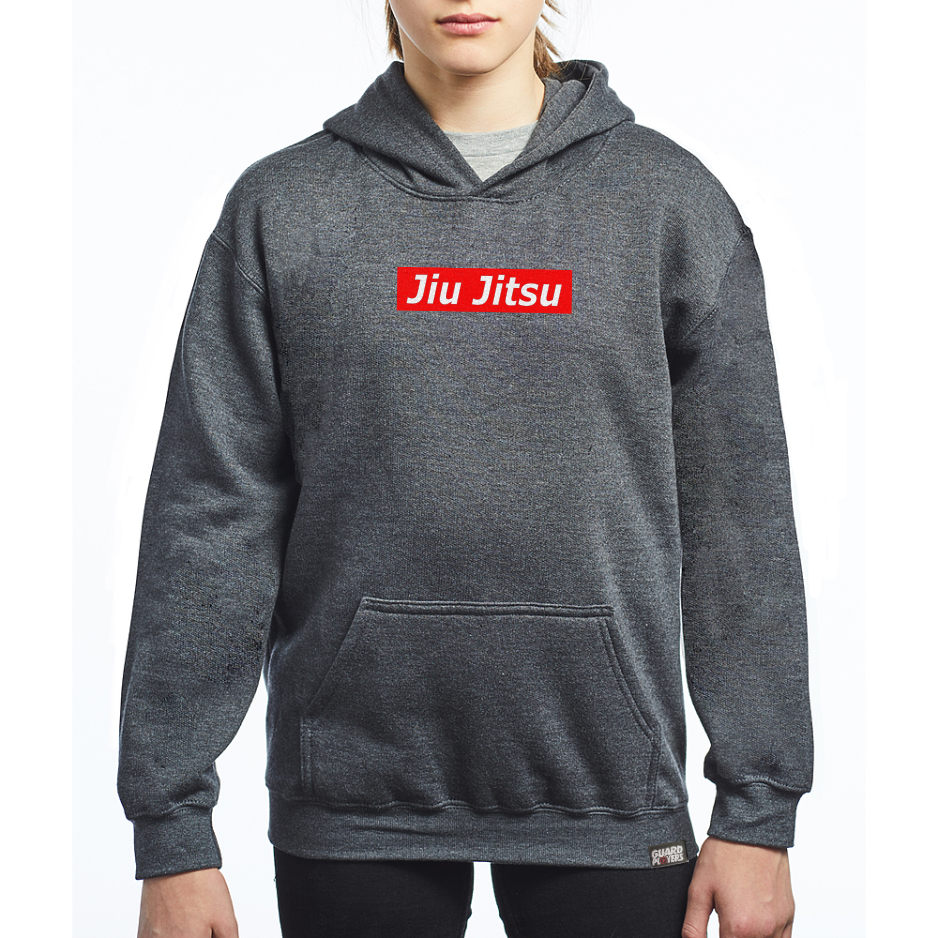 Guard Players <br> Jiu Jitsu Supreme Hoodie <br> Kids Heather Grey