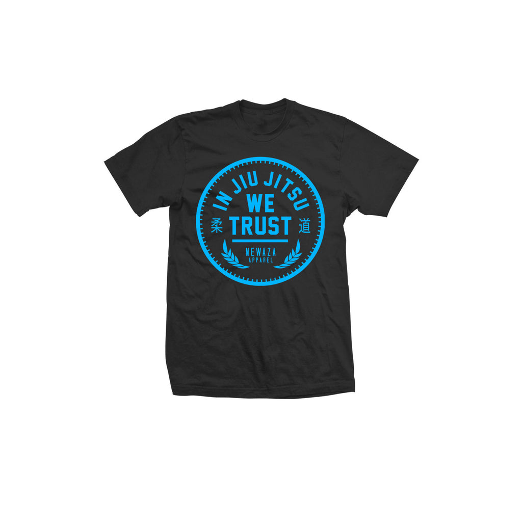 Newaza Apparel <br> In Jiu Jitsu We Trust <br> Kids Blue