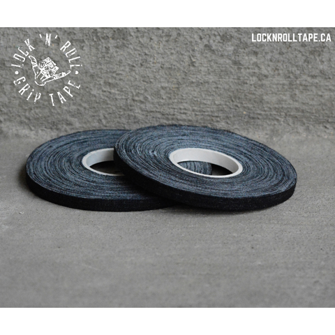 Lock N Roll <br> Black Grip Tape <br> 0.5 cm / 0.2 inches