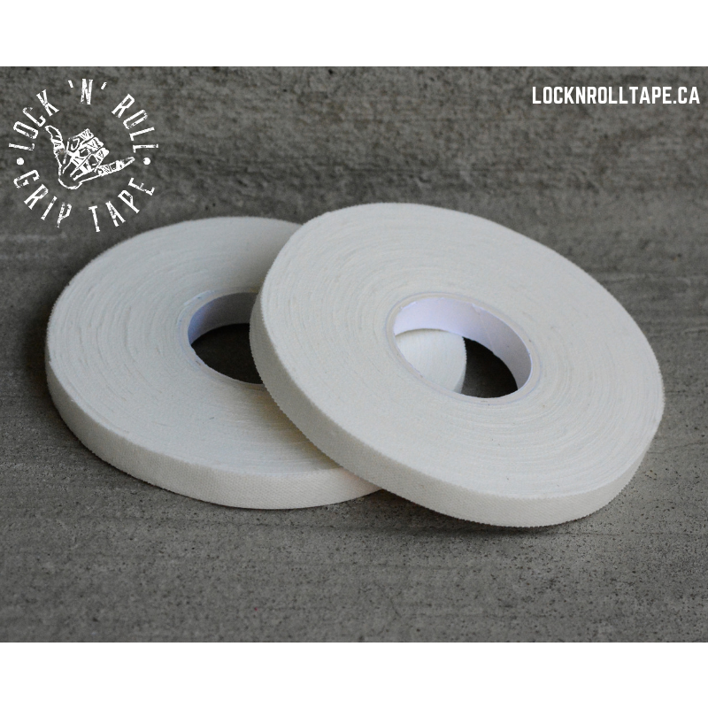 Lock N Roll <br> White Grip Tape <br> 0.5 cm / 0.2 inches