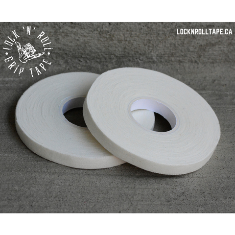 Lock N Roll <br> White Grip Tape <br> 0.75 cm / 0.3 inches