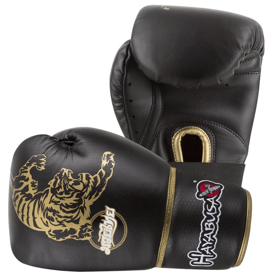 Hayabusa <br> Muay Thai 10oz Gloves <br> Black and Gold