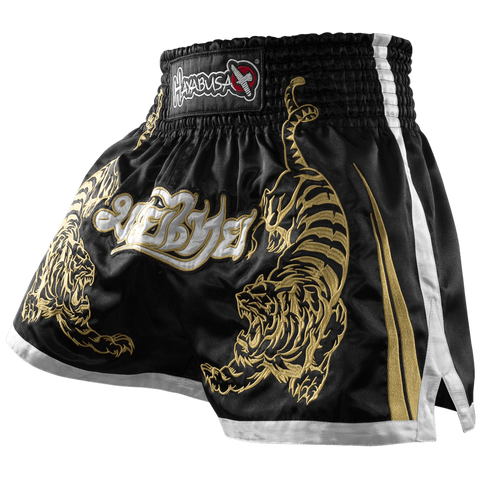 Hayabusa <br> Muay Thai Shorts <br> Black