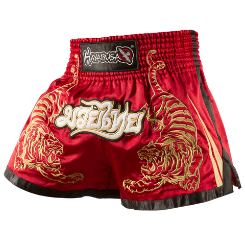Hayabusa <br> Muay Thai Shorts <br> Red