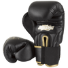 Hayabusa <br> Muay Thai 16oz Gloves <br> Black and Gold