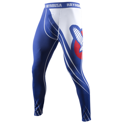 Hayabusa <br> Recast Compression Pants <br> Blue/White