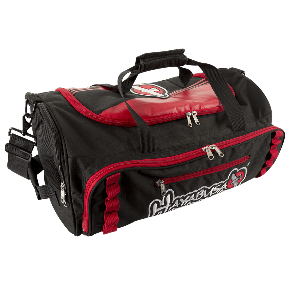Hayabusa <br> Power Duffle Bag <br> Black and Red