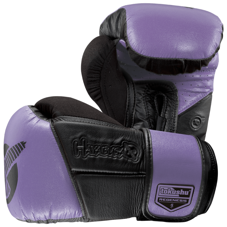 Hayabusa <br> Tokushu Regenesis 10 oz Gloves <br> Purple