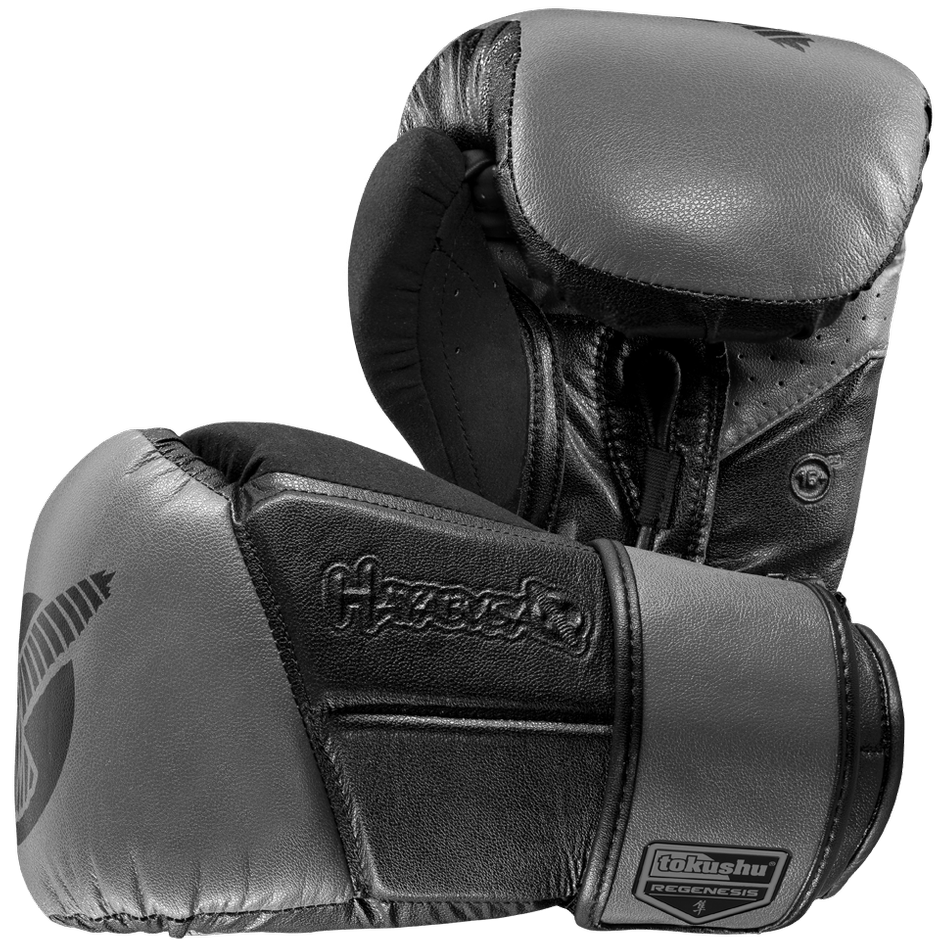Hayabusa <br> Tokushu Regenesis 16 oz+ Gloves <br> Black/Grey