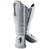 Hayabusa Tokushu Striking Shinguards White/Slate Grey