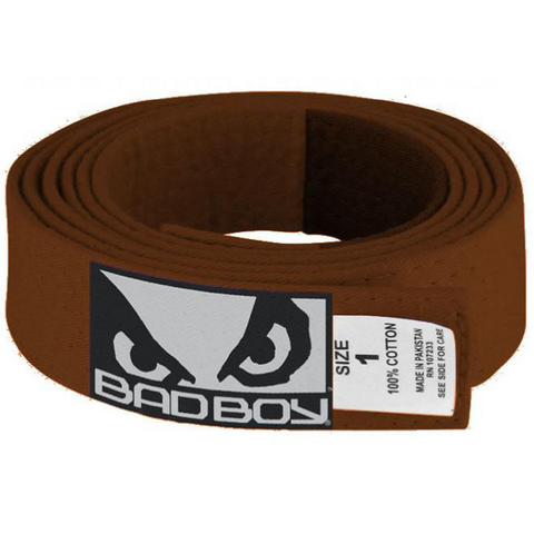 Bad Boy <br> JiuJitsu Belt <br> Brown