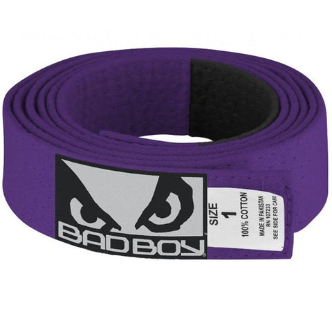 Bad Boy <br> JiuJitsu Belt <br> Purple