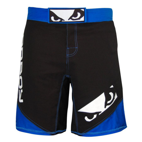 Bad Boy <br> Legacy II Shorts <br> Black/Blue
