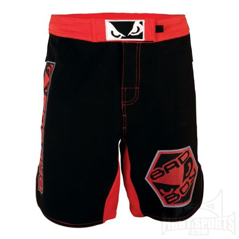 Bad Boy <br> Legacy Fight Shorts <br> Black/Red