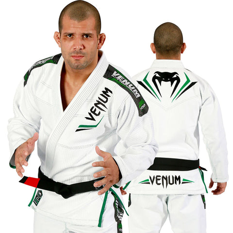 Venum <br> Elite BJJ Gi <br> White/Green