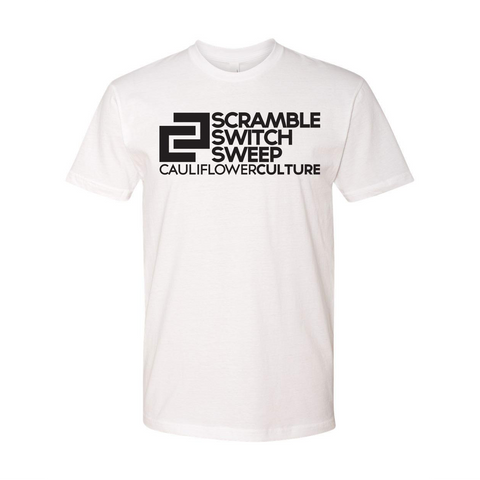 Cauliflower Culture <br> Scramble, Switch, Sweep <br> White