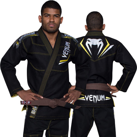 Venum <br> Elite BJJ Gi <br> Black/Yellow