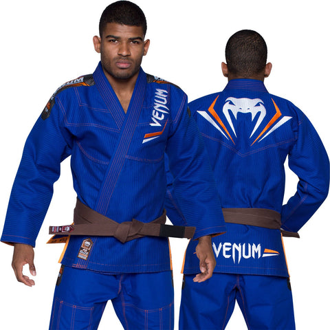 Venum <br> Elite BJJ Gi <br> Blue/Orange