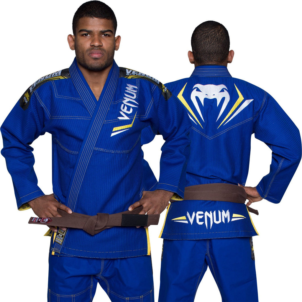 Venum <br> Elite BJJ Gi <br> Blue/Yellow