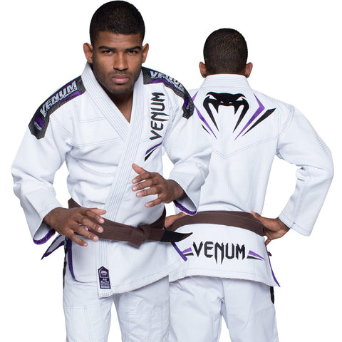Venum <br> Elite BJJ Gi <br> White/Purple