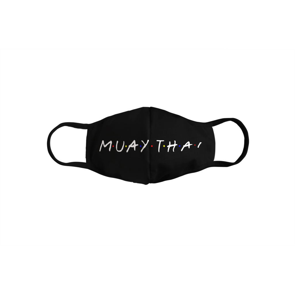 Striking Apparel<br> Muay Thai Friends<br> Kids Face Mask
