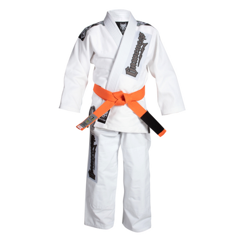 Gameness Platinum Pup Kids Gi White