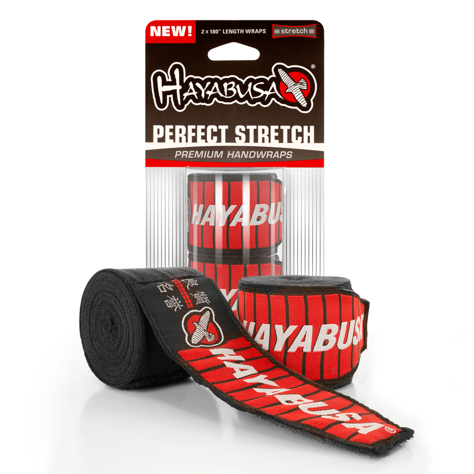 Hayabusa <br> Perfect Stretch 2 Handwraps <br> Black