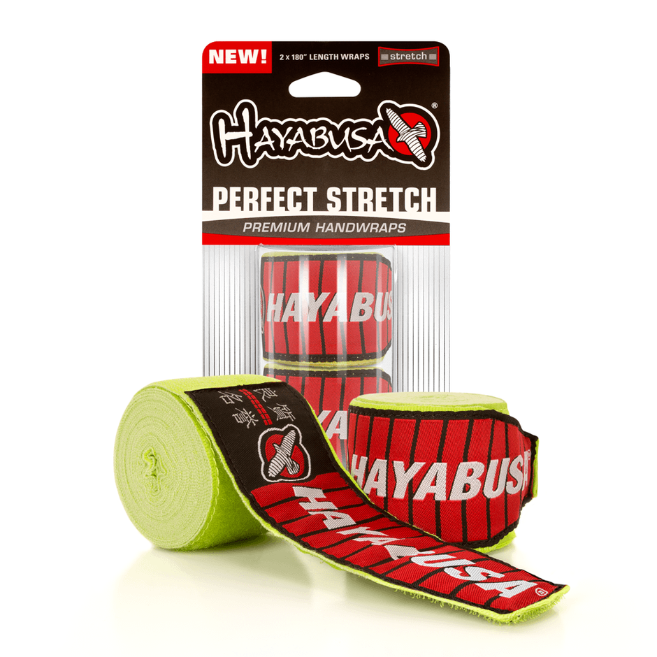 Hayabusa <br> Perfect Stretch 2 Handwraps <br> Lime Green