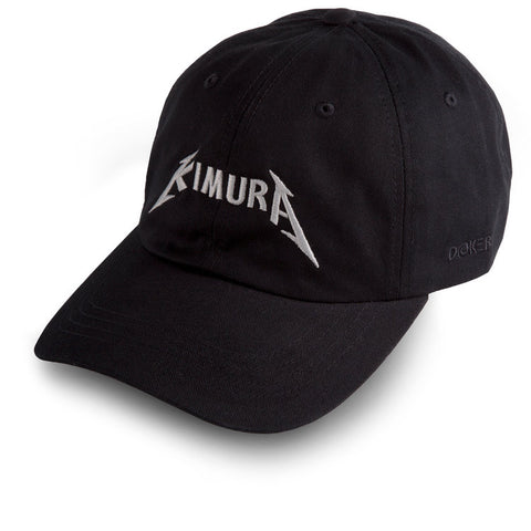 Dokebi Combat <br> Kimura Dad Hat <br> Silver on Black