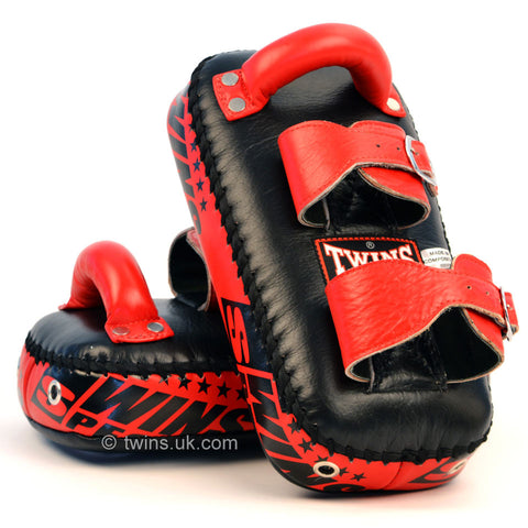 Twins Special <br> Full Leather Thai Pad <br> With Buckle